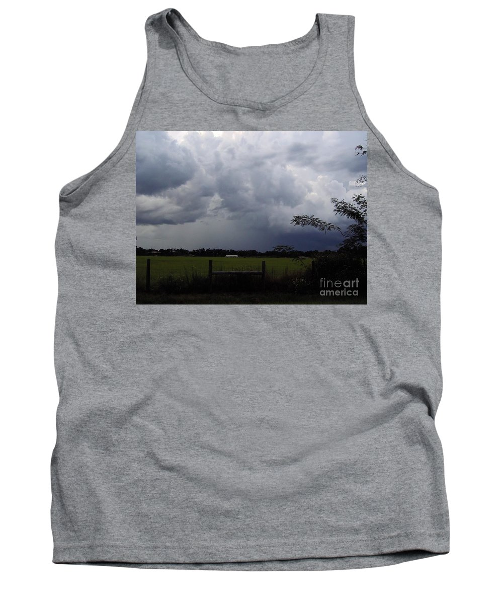 Clouds Tank Top featuring the photograph Afternoon Storm by D Hackett