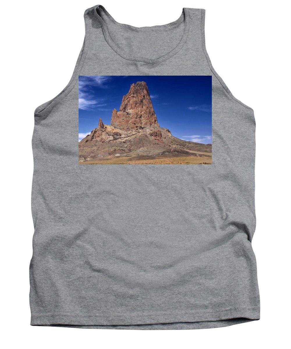 Agathla Peak Tank Top featuring the photograph Agathla Peak by Gary Yost