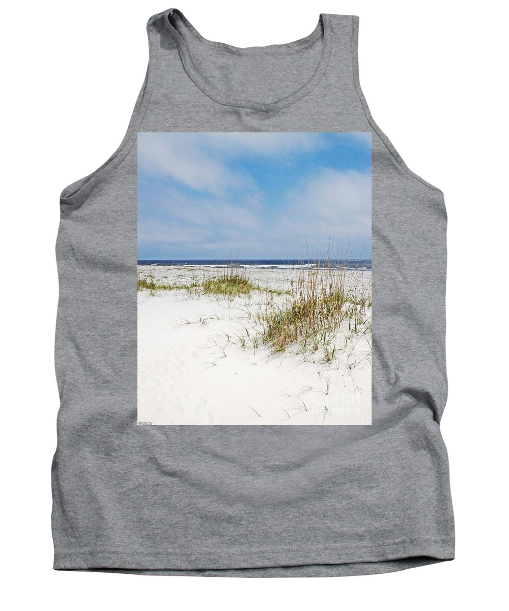 Beach Tank Top featuring the photograph Alabama Point 2 by Lizi Beard-Ward