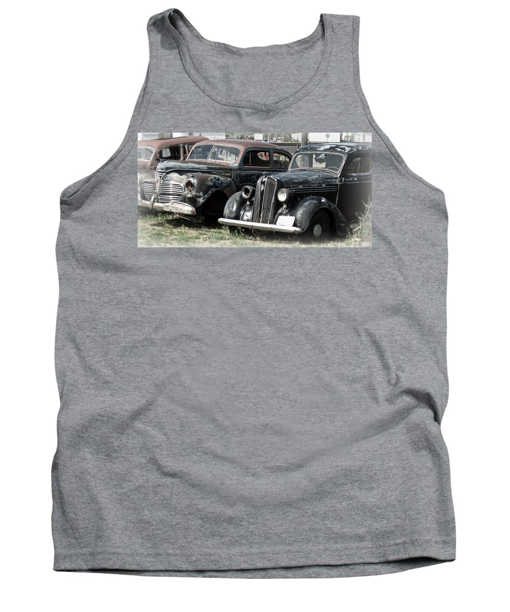 Packard Tank Top featuring the photograph American History by Daniel Hagerman
