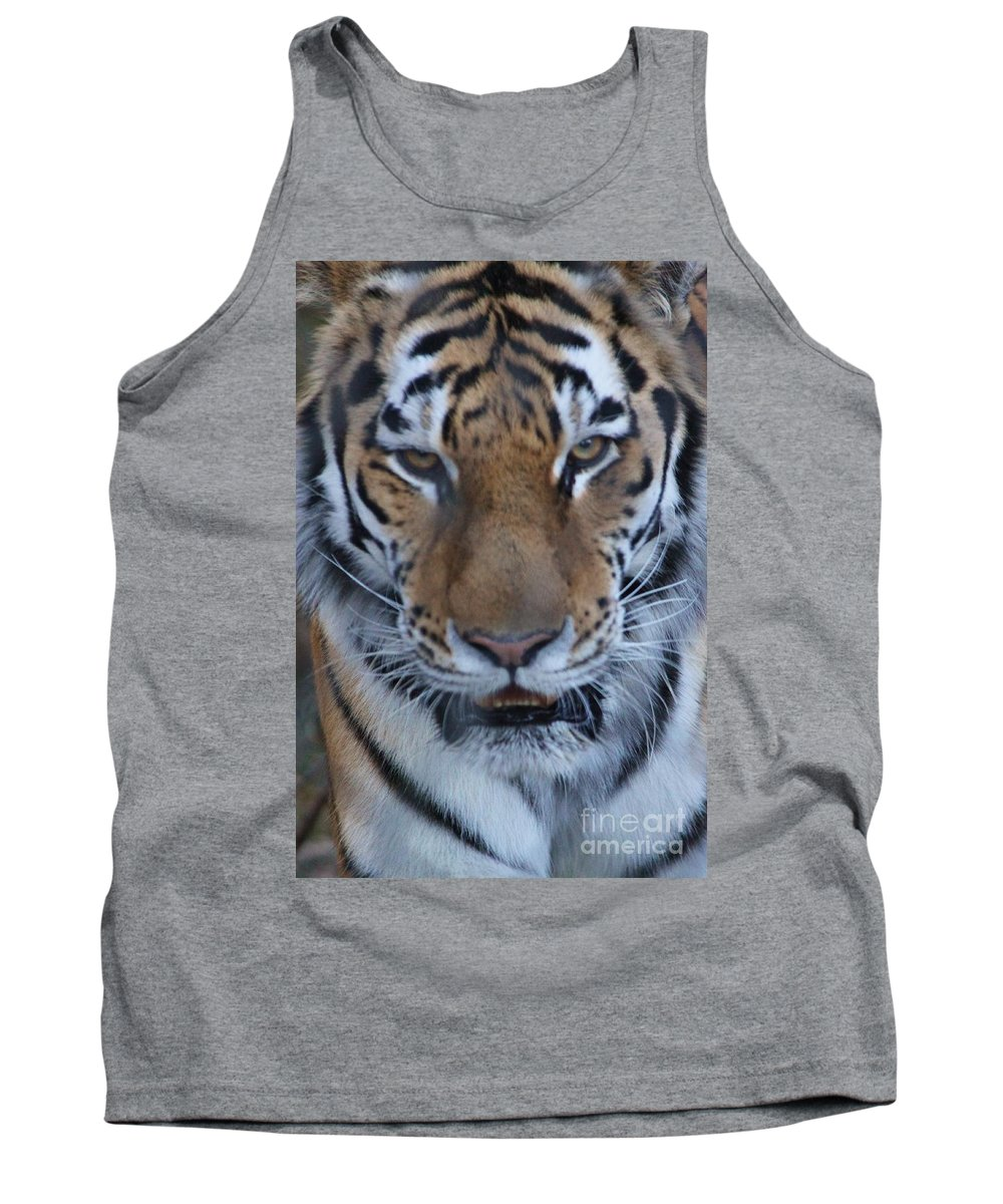 Zoo Tank Top featuring the photograph Angry by Tonya Hance