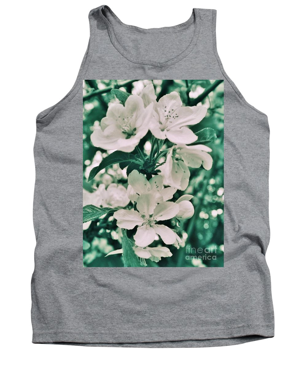Tank Top featuring the photograph Apple Blossoms by Chet B Simpson