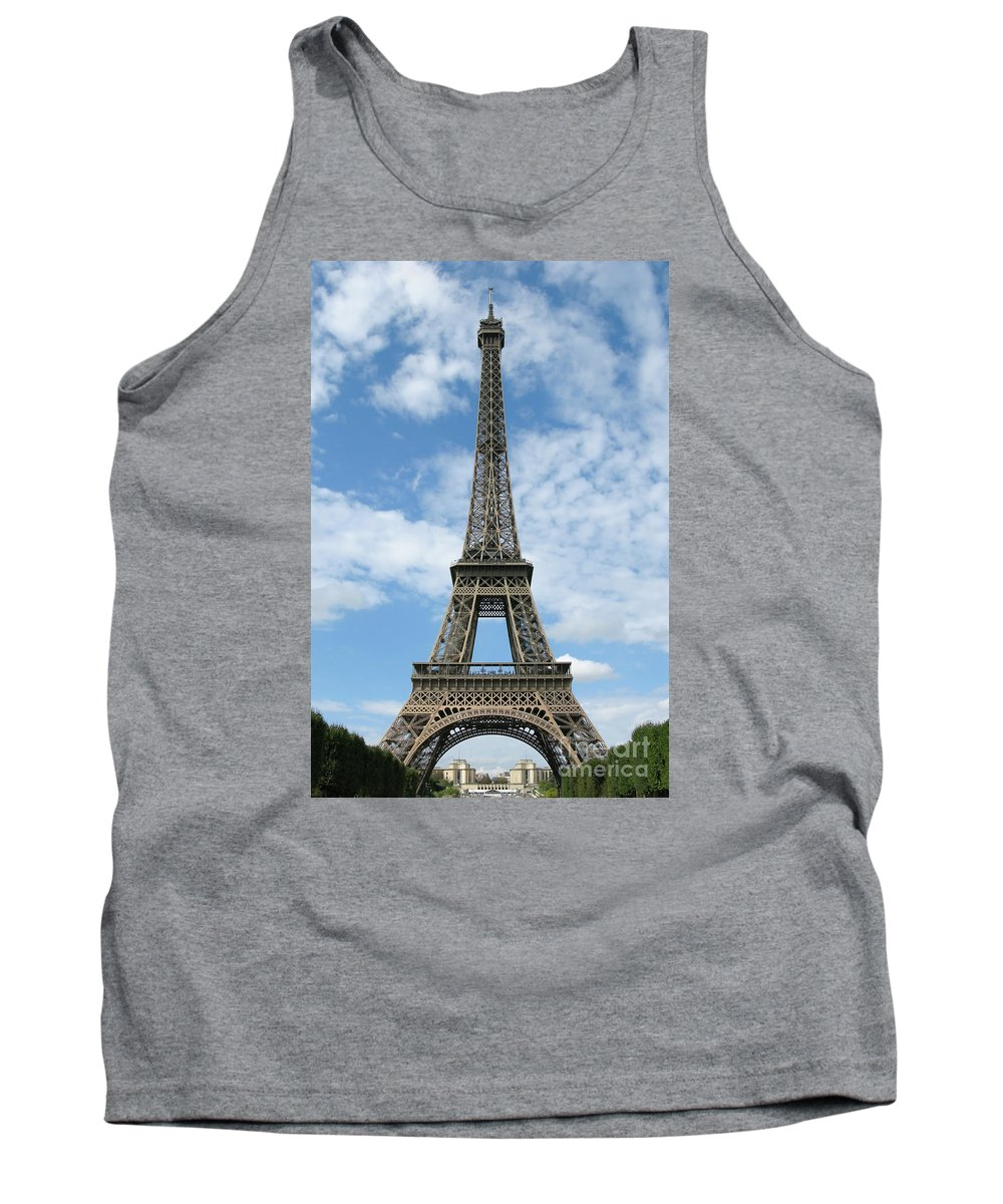 Paris Tank Top featuring the photograph Architectural Standout by Ann Horn