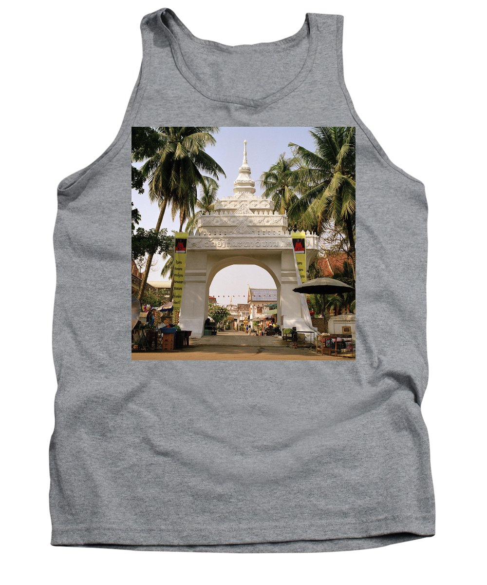 Asia Tank Top featuring the photograph Archway by Shaun Higson
