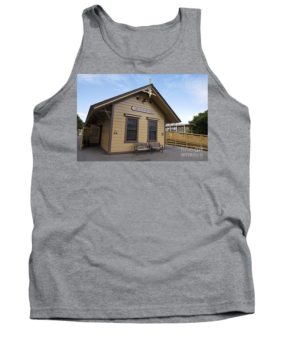 Ardenwood Historic Farm Tank Top featuring the photograph Ardenwood Historic Farm by Jason O Watson