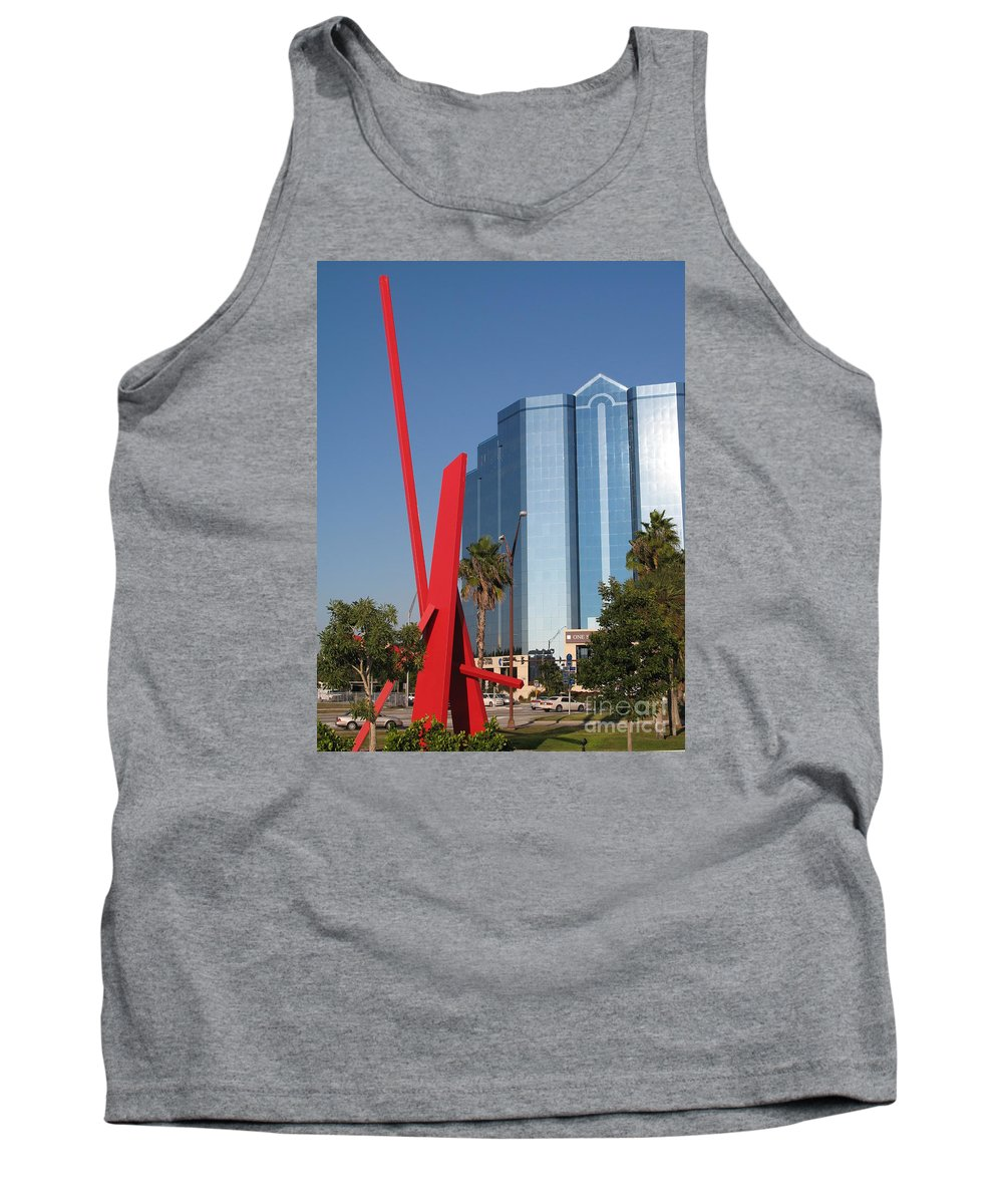 Art Tank Top featuring the photograph Art 2008 At Sarasota Waterfront II by Christiane Schulze Art And Photography