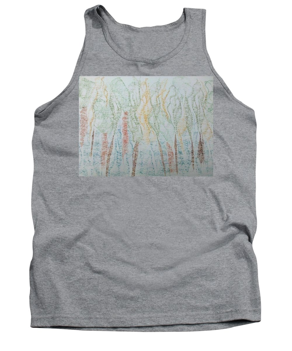 Trees Tank Top featuring the photograph Art Therapy 102 by Michele Monk