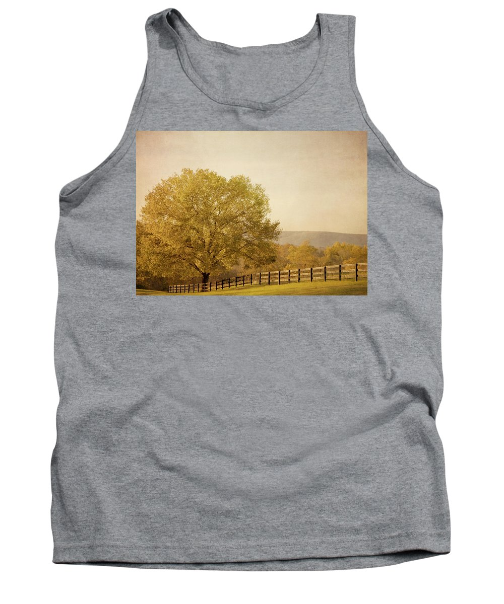 Autumn Tank Top featuring the photograph Autumn Wonders by Kim Hojnacki