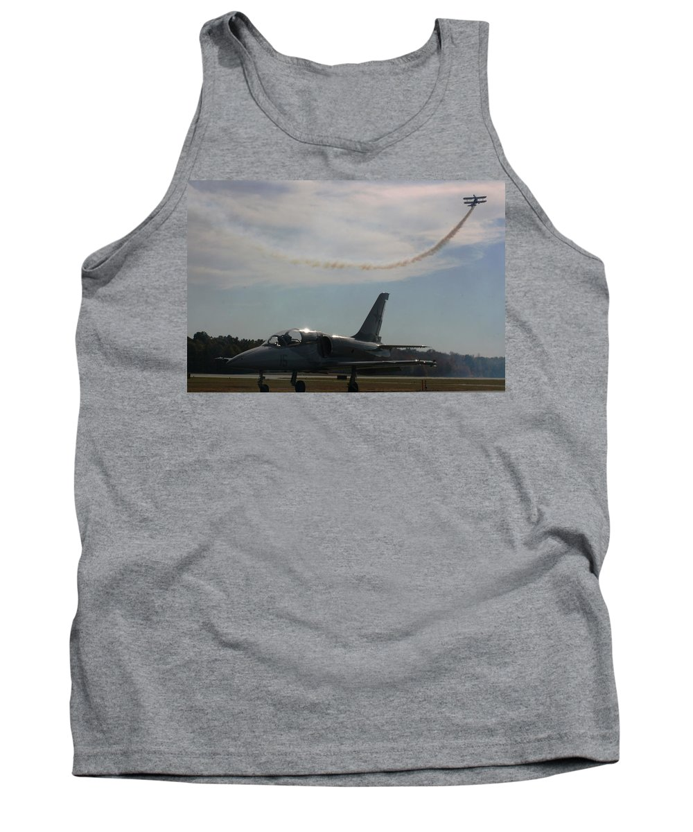 Aviation Tank Top featuring the photograph Aviation History by Stacy C Bottoms