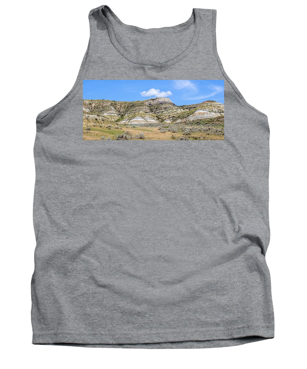 Badlands Tank Top featuring the photograph Badlands 30 by Chad Rowe