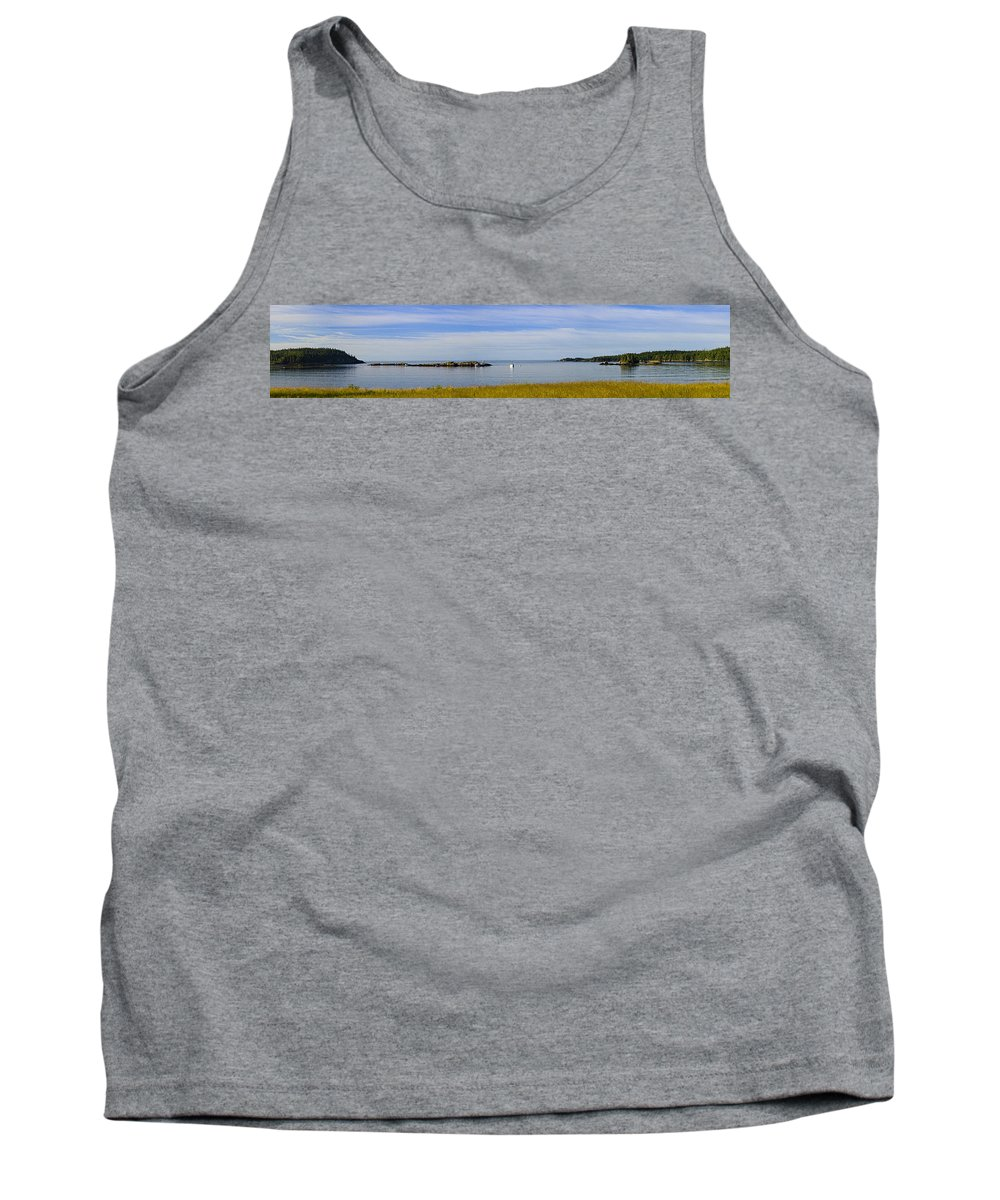 Bailey's Mistake Tank Top featuring the photograph Bailey's Mistake Panorama by Marty Saccone