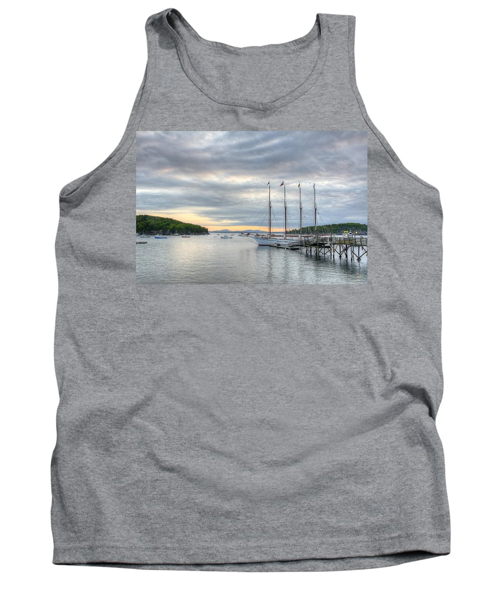 Bar Harbor Tank Top featuring the photograph Bar Harbor Sunrise by Donna Doherty