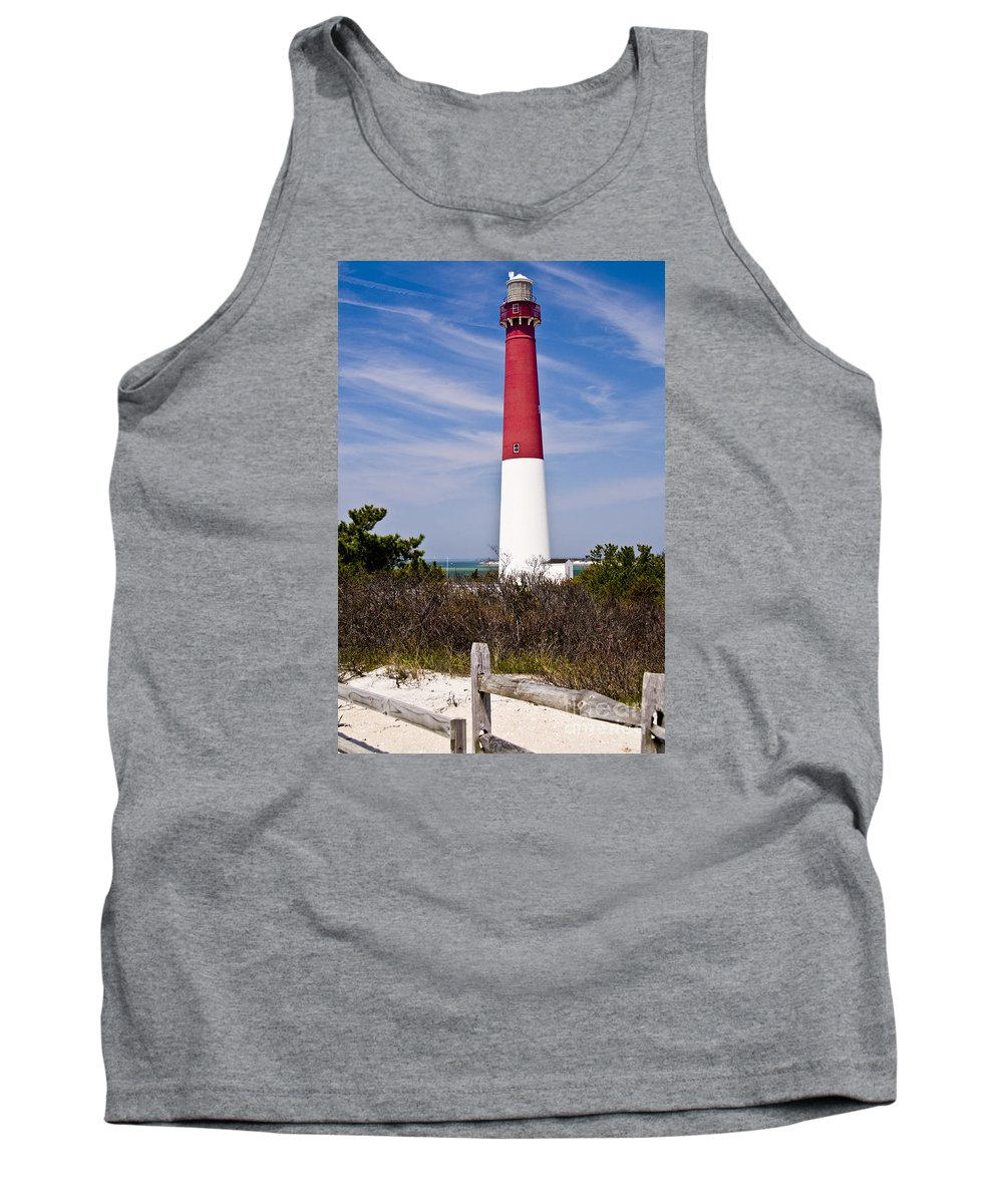 Nautical Tank Top featuring the photograph Barnegat Lighthouse by Anthony Sacco