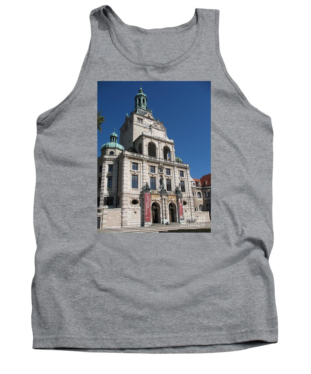 Museum Tank Top featuring the photograph Bavarian National Museum by Christiane Schulze Art And Photography