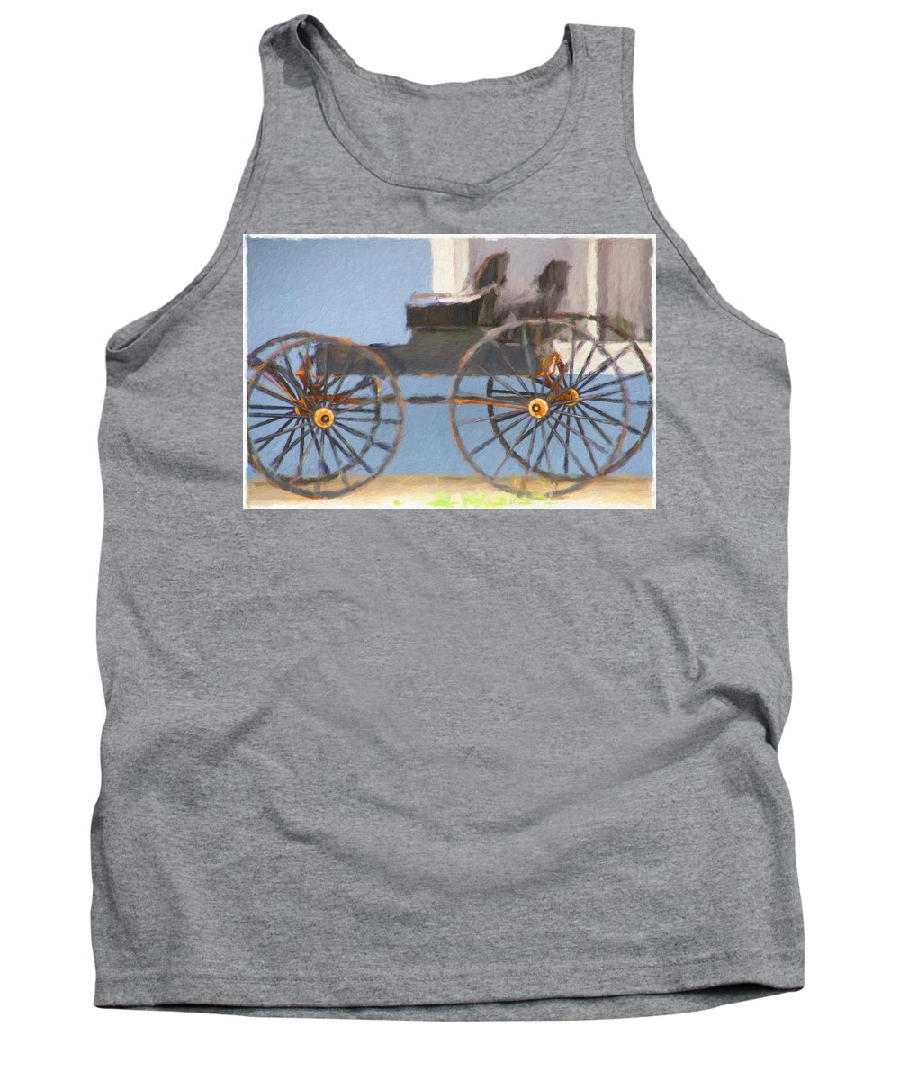 Surrey Tank Top featuring the photograph Beachside Surrey by Alice Gipson