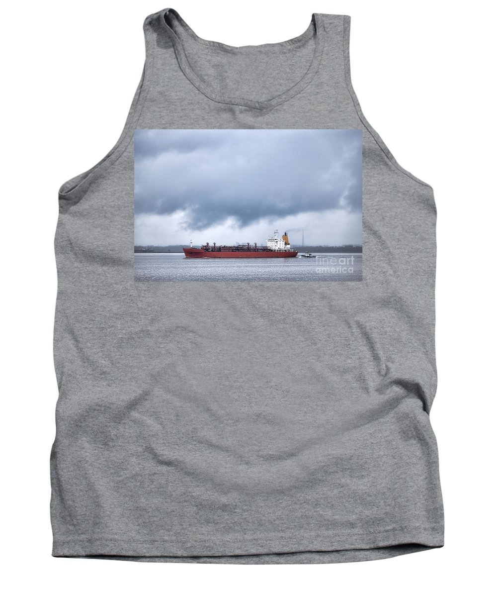 Lpg Tank Top featuring the photograph Begin The Voyage by Olivier Le Queinec