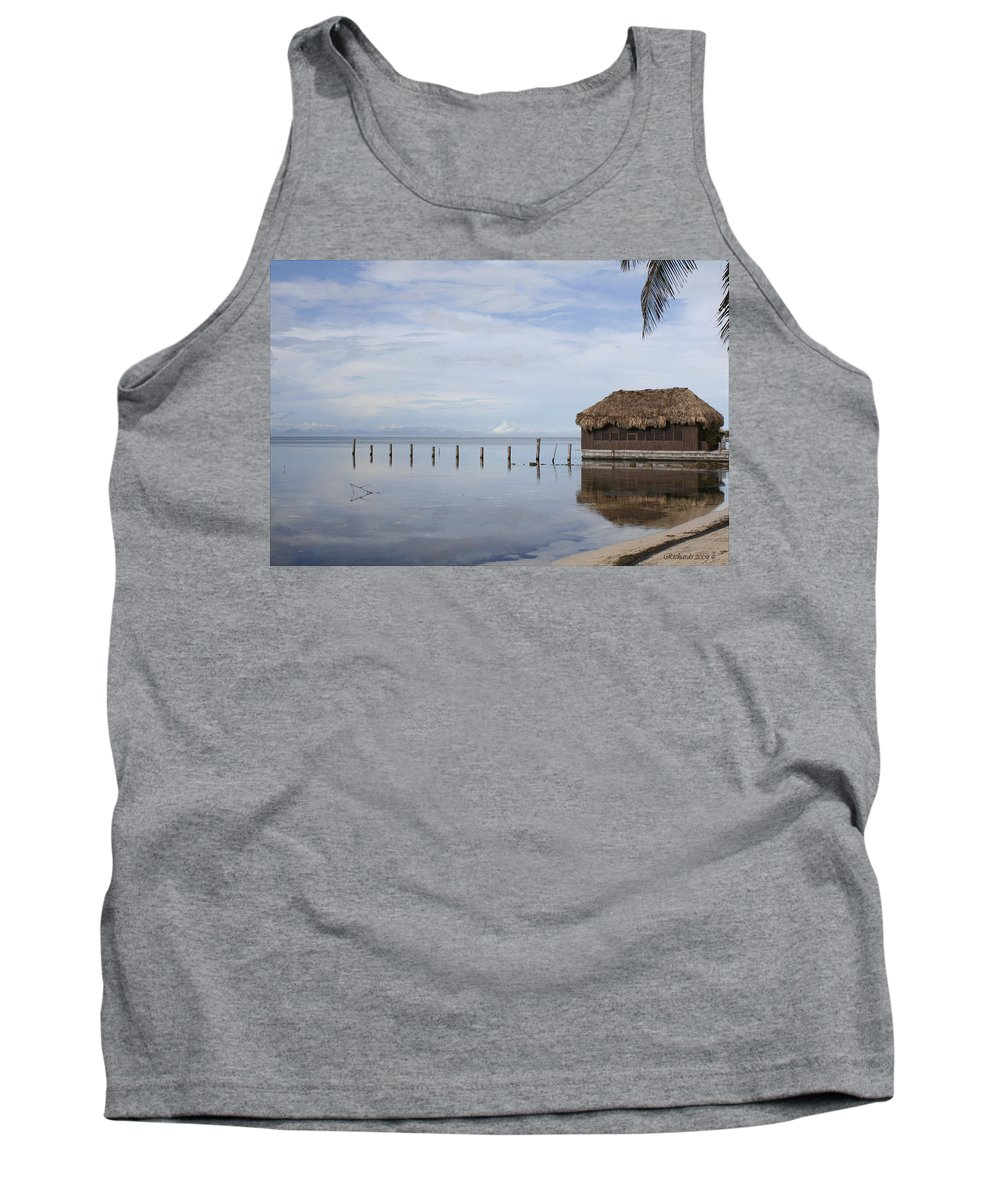 Belize Tank Top featuring the photograph Belize by Debby Richards