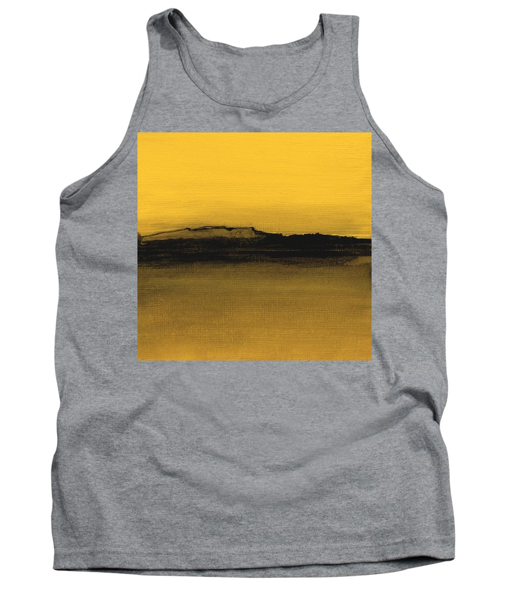 Fineartamerica.com Tank Top featuring the painting Between The Woods And Frozen Lake Number Eleven by Diane Strain