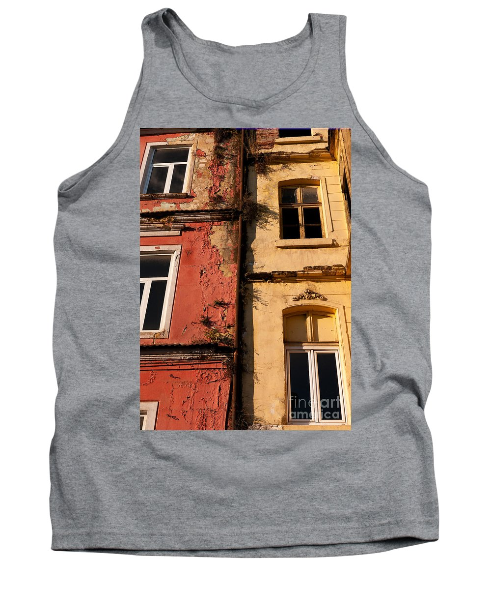 Istanbul Tank Top featuring the photograph Beyoglu Old Houses 02 by Rick Piper Photography