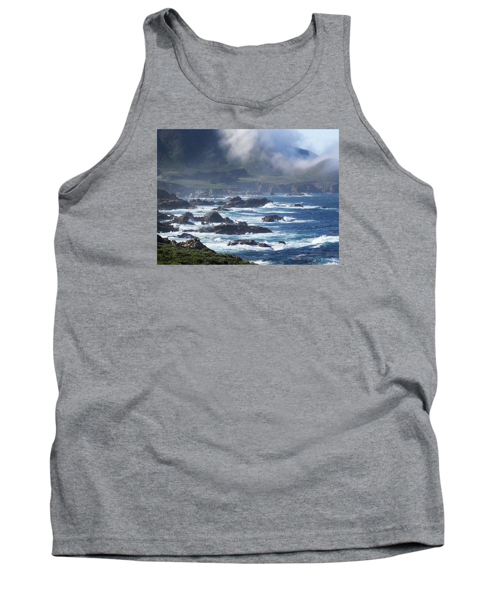 Big Sur Greeting Card Tank Top featuring the photograph Big Sur California by Kristina Deane