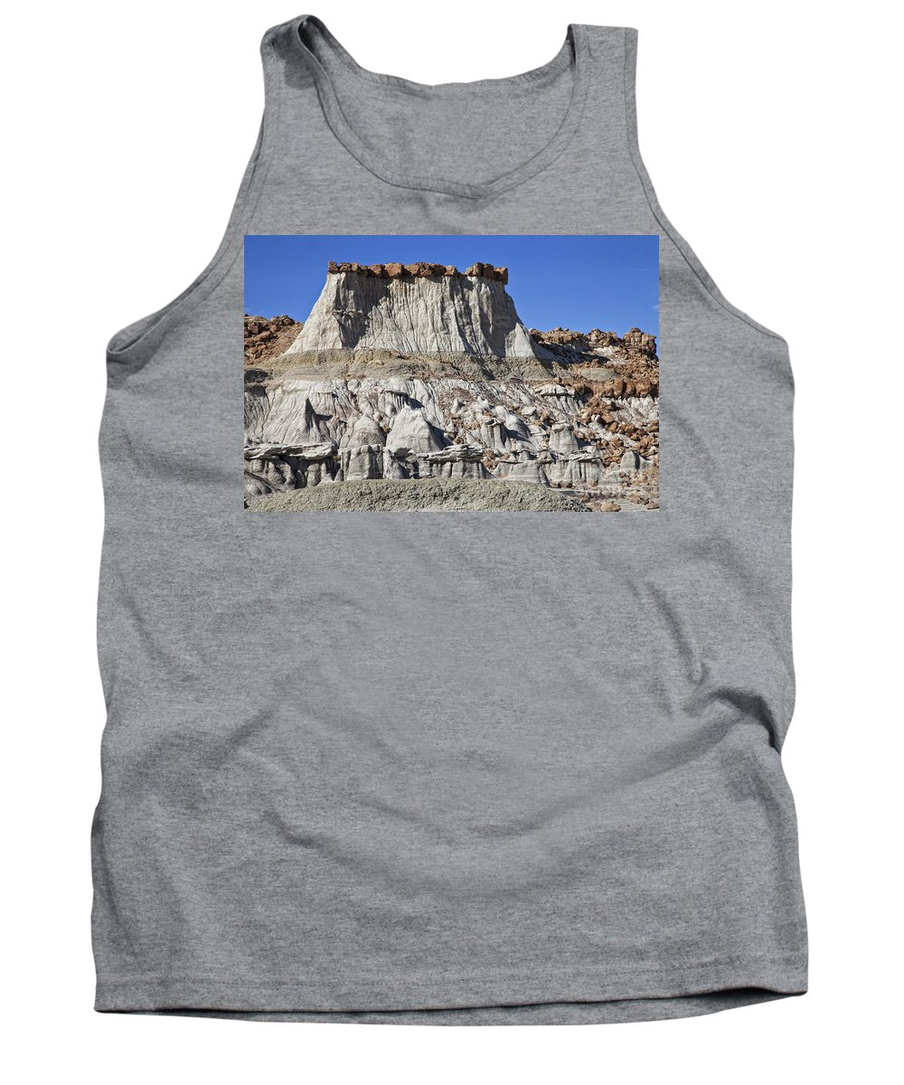 Bisti Badlands Tank Top featuring the photograph Bisti Badlands 1 by Timothy Hacker