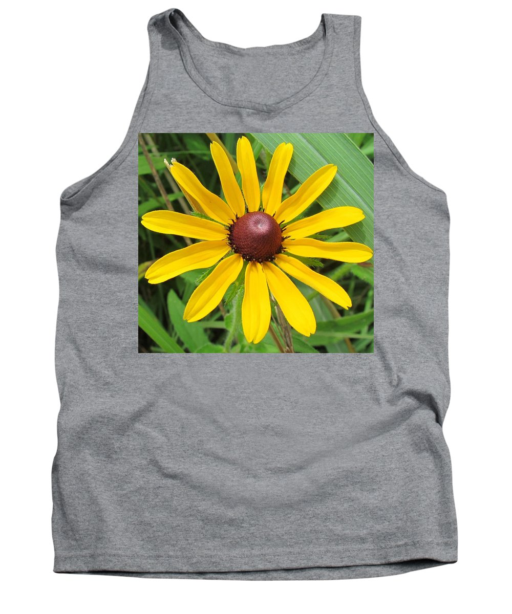 Black Eyed Susan Tank Top featuring the photograph Black-eyed Susan by Eric Noa