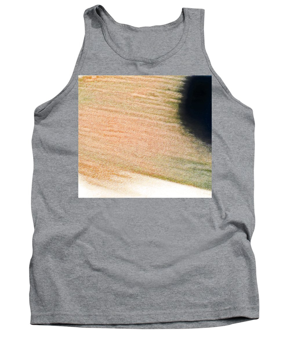 Abstract Tank Top featuring the photograph Black Sun by Lenore Senior