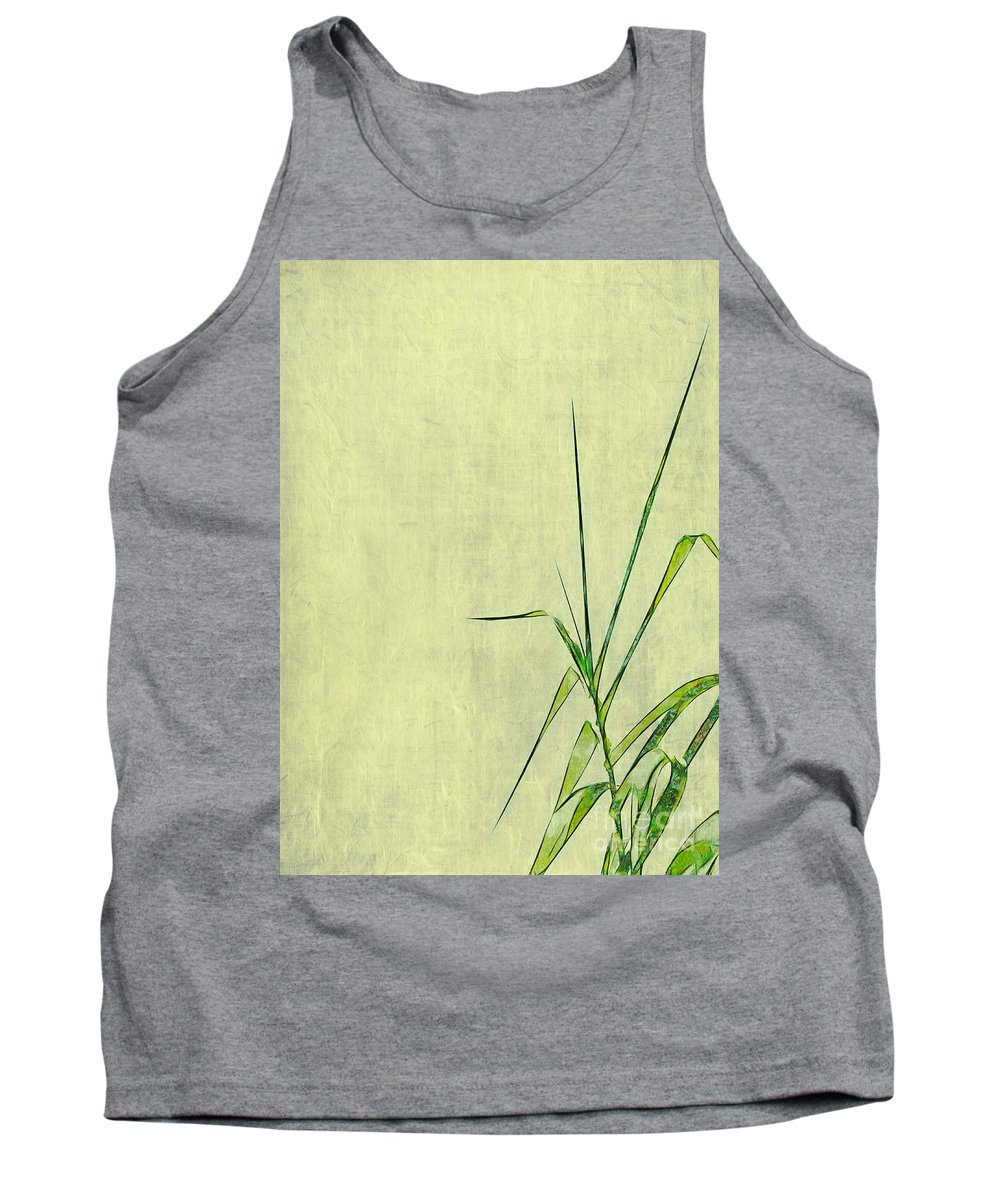 Grass Tank Top featuring the photograph Blades Of Grass by Judi Bagwell