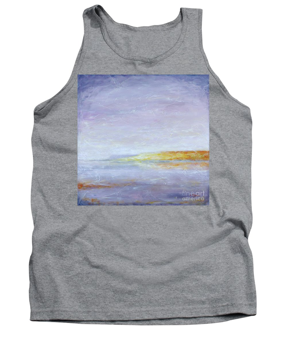Painting Tank Top featuring the painting Bliss by Cristina Stefan