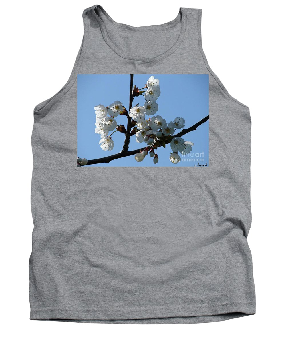 Blossoms Tank Top featuring the photograph Blossoms by Carol Lynch