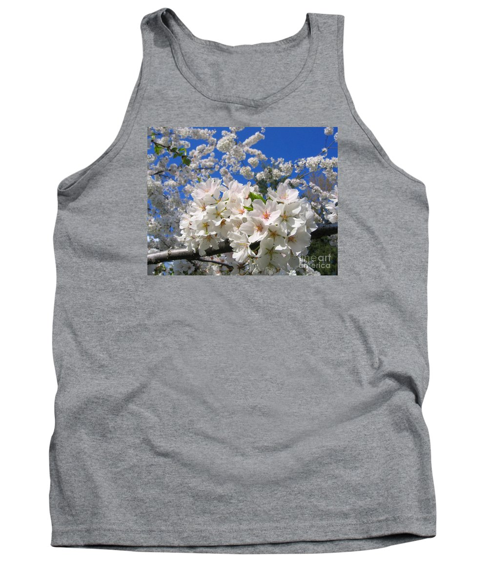 Spring Tank Top featuring the photograph Blossoms Of Spring by Ann Horn