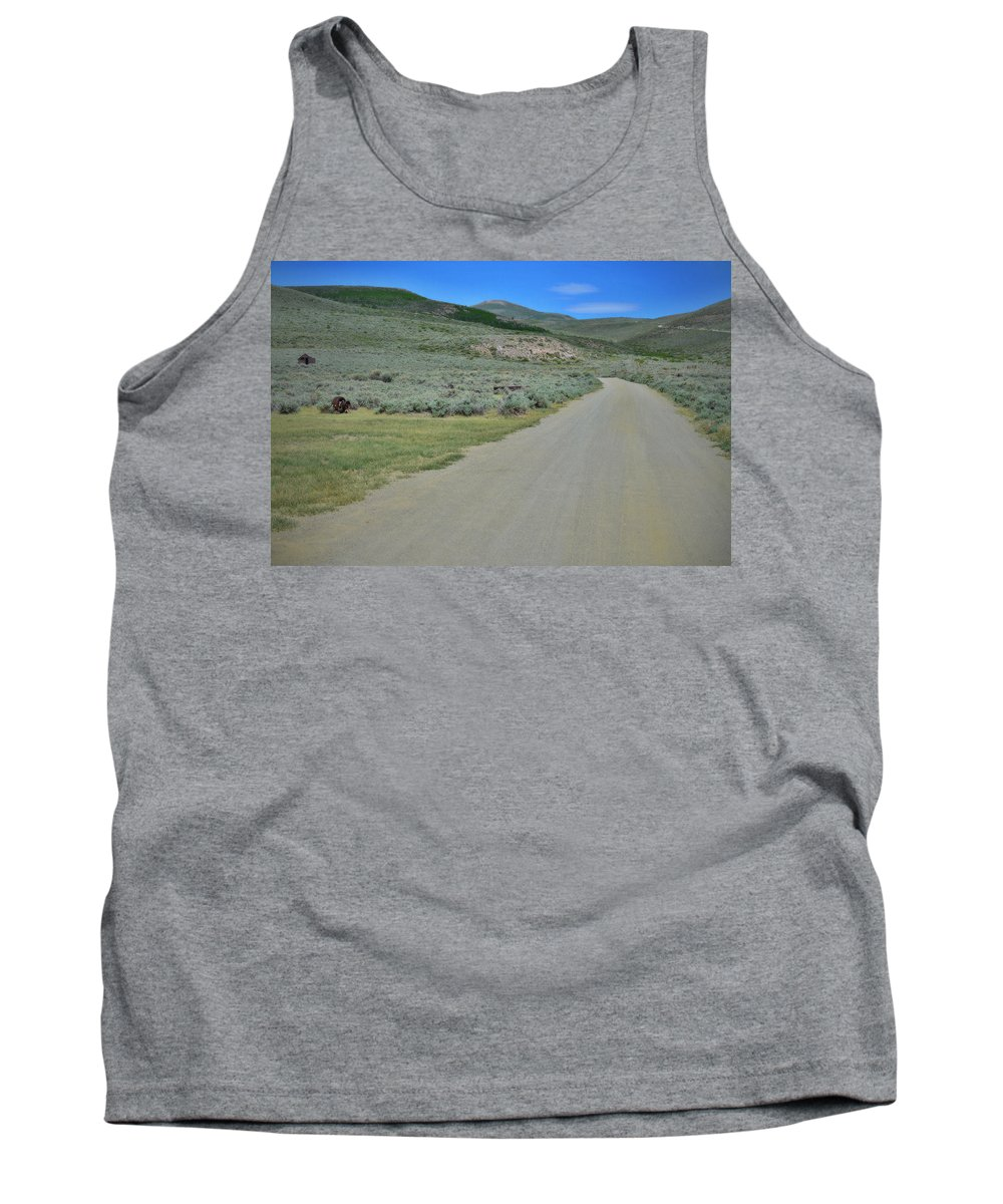 Bodie Tank Top featuring the photograph Bodie California by See My Photos