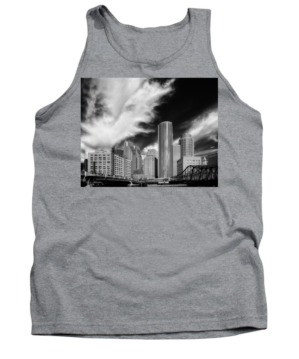 Boston Tank Top featuring the photograph Boston Skyline by Mountain Dreams