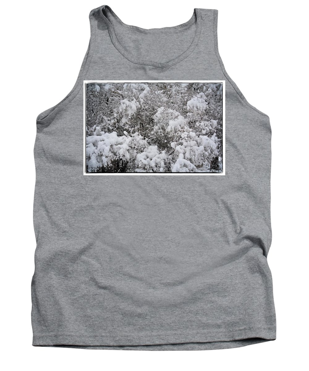 Idaho Falls Tank Top featuring the photograph Branches Of Snow by Image Takers Photography LLC - Carol Haddon