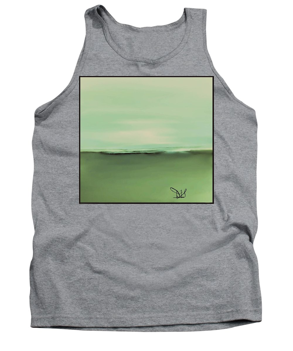 Fineartamerica.com Tank Top featuring the painting Breaking Waves #3 by Diane Strain
