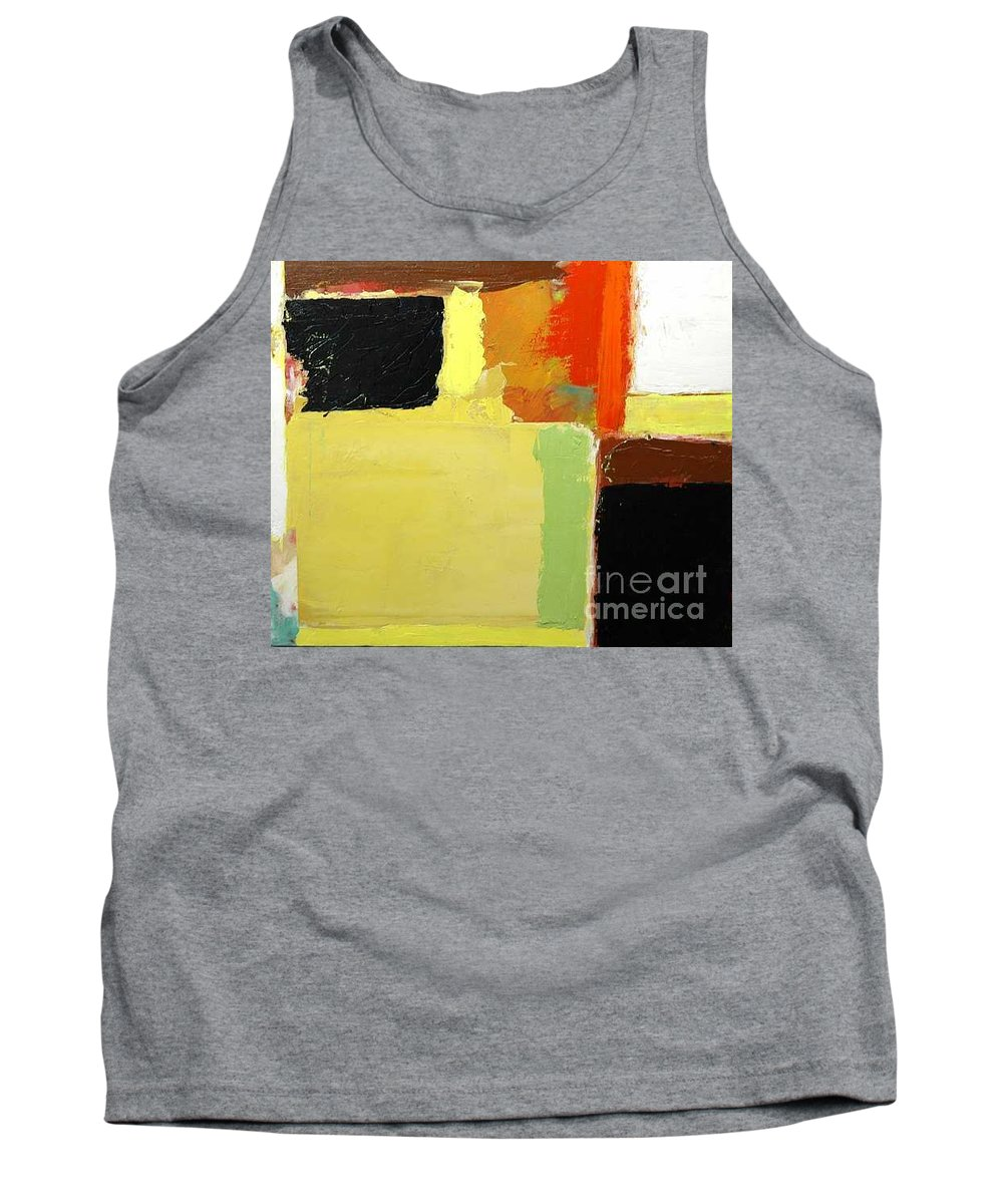 Landscape Tank Top featuring the painting Brisbane by Allan P Friedlander