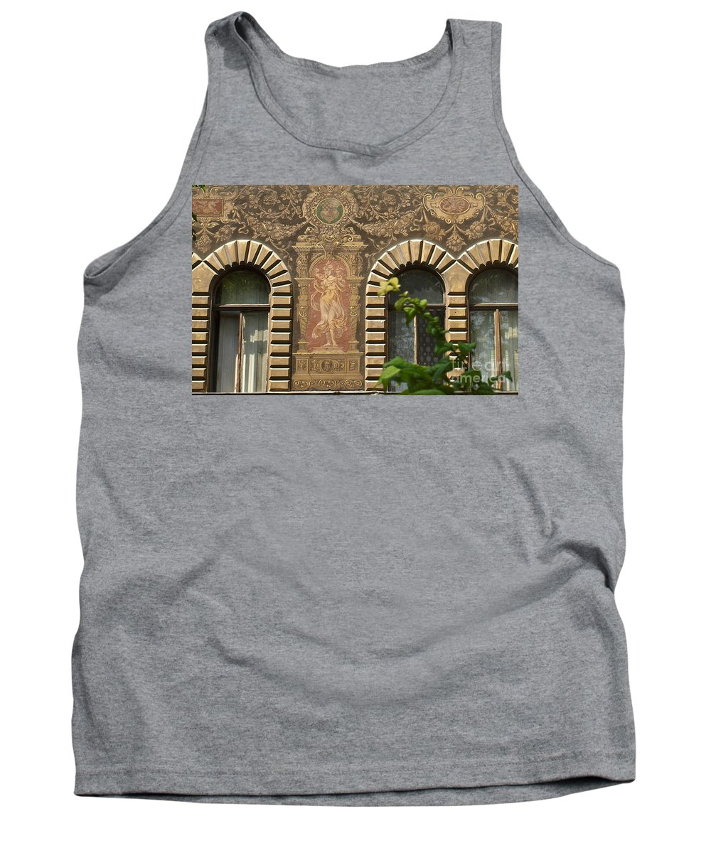 Budapest Tank Top featuring the photograph Building Exterior by Howard Stapleton