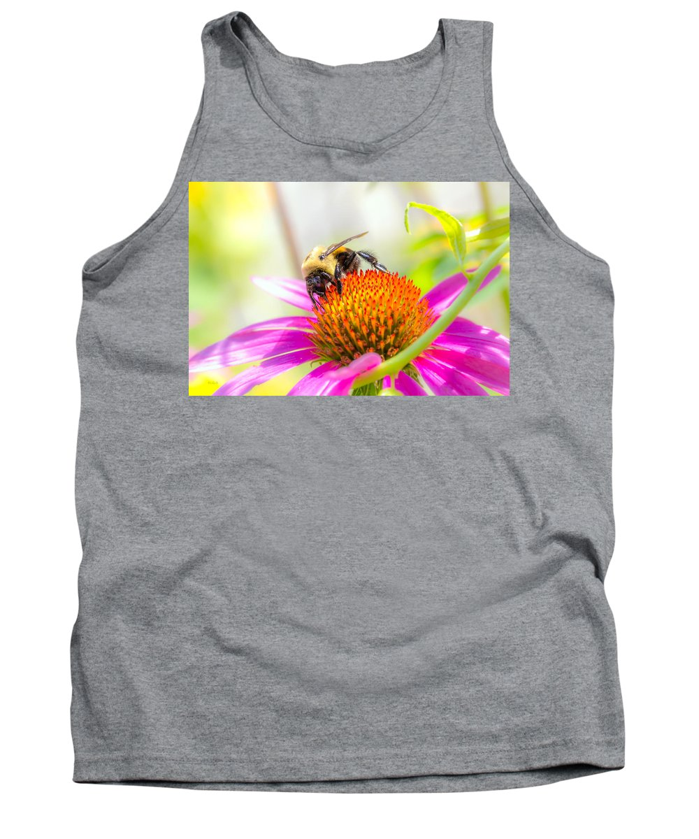 Bees Tank Top featuring the photograph Bumble Bee by Bob Orsillo