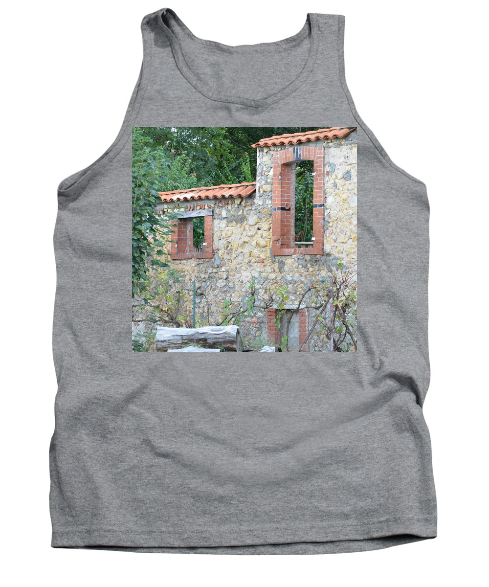 Burgundy Tank Top featuring the photograph Burgundy . 1.1 by Cheryl Miller
