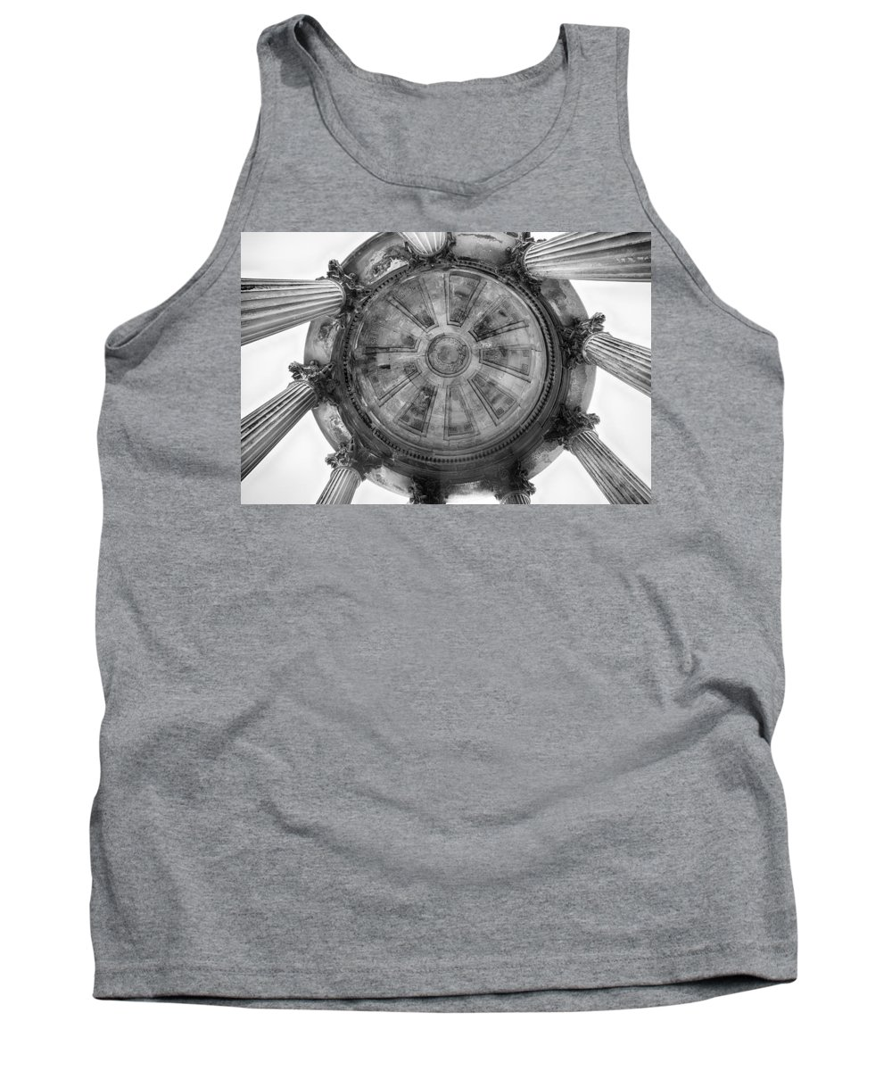 Monument Tank Top featuring the photograph Burns Monument by Eunice Gibb