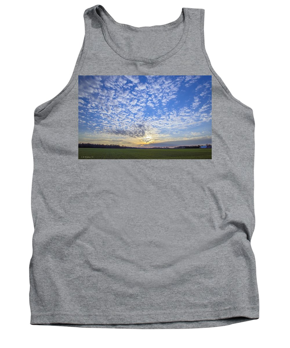2d Tank Top featuring the photograph Busy Sky by Brian Wallace