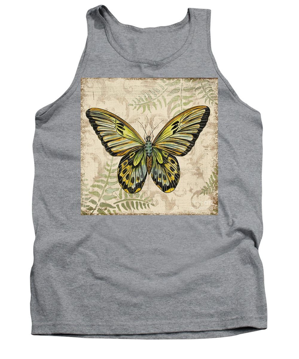Painting Tank Top featuring the painting Butterfly Daydreams-a by Jean Plout