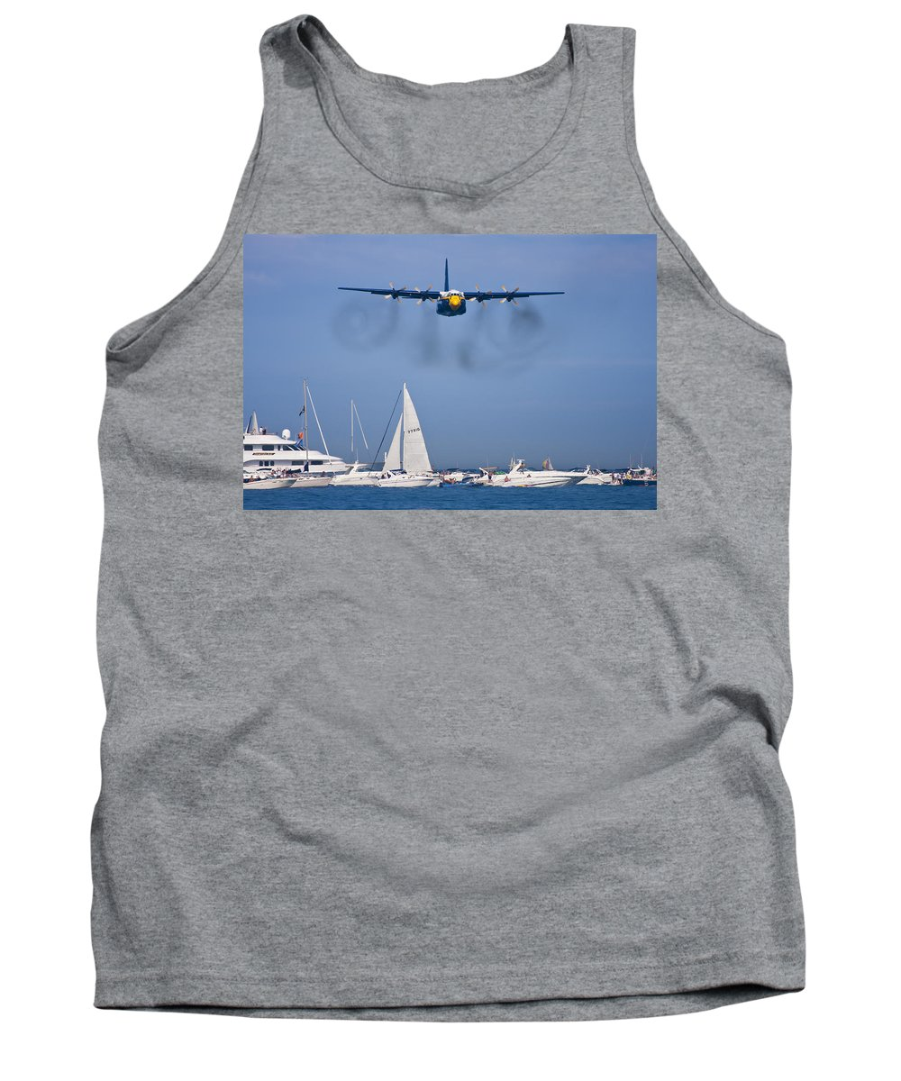 3scape Photos Tank Top featuring the photograph Buzzing The Crowd by Adam Romanowicz