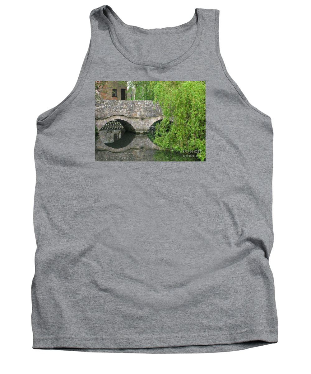 England Tank Top featuring the photograph By The Old Mill Stream by Ann Horn