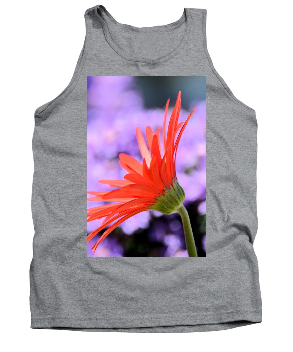 Calling On The Sun Tank Top featuring the photograph Calling On The Sun by Maria Urso