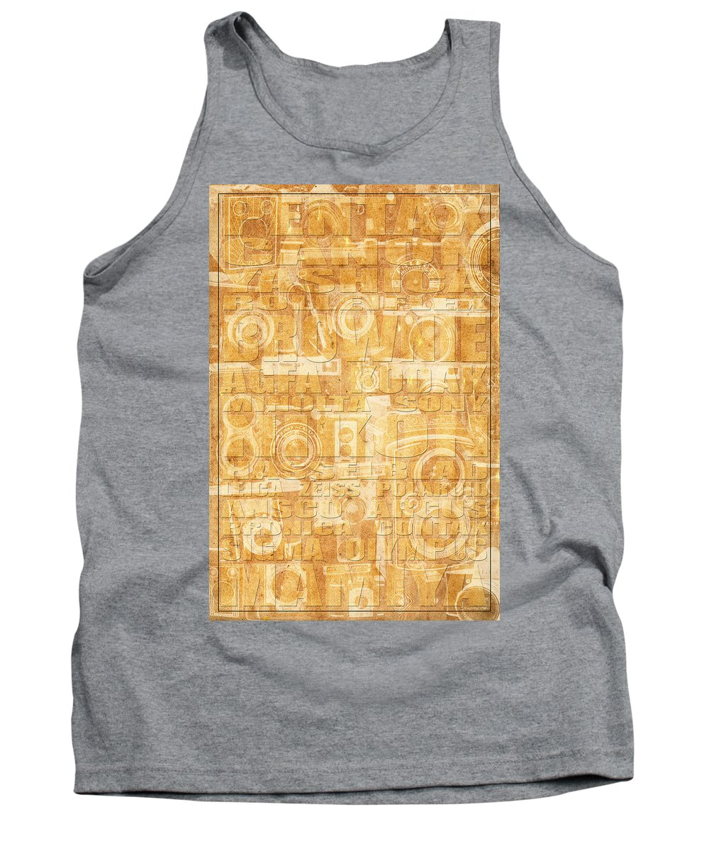 Cameras Tank Top featuring the photograph Camera by Andrew Fare