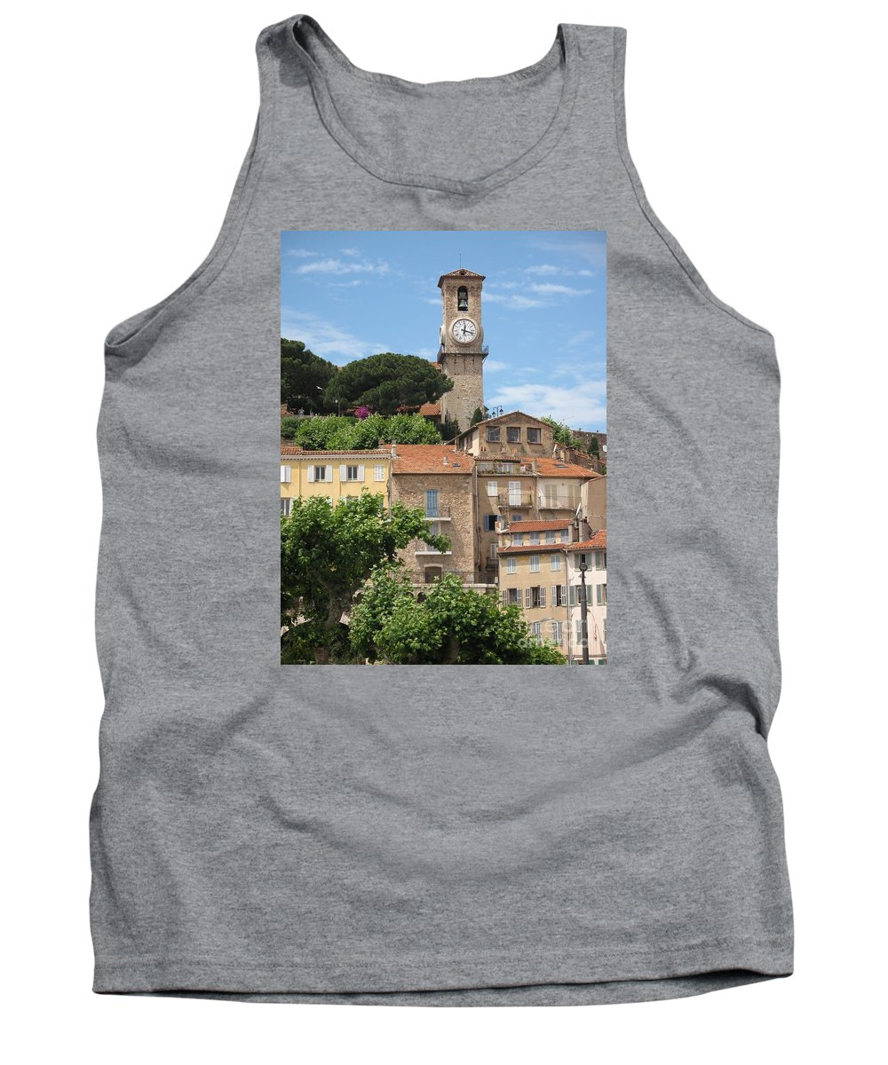 Cannes Tank Top featuring the photograph Cannes by Christiane Schulze Art And Photography