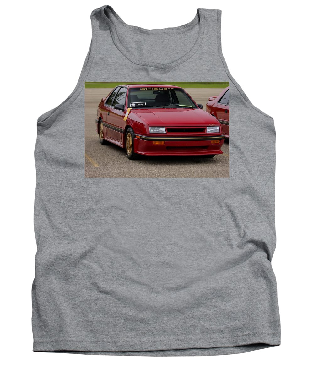 Dodge Shelby Csx Tank Top featuring the photograph Car Show 040 by Josh Bryant