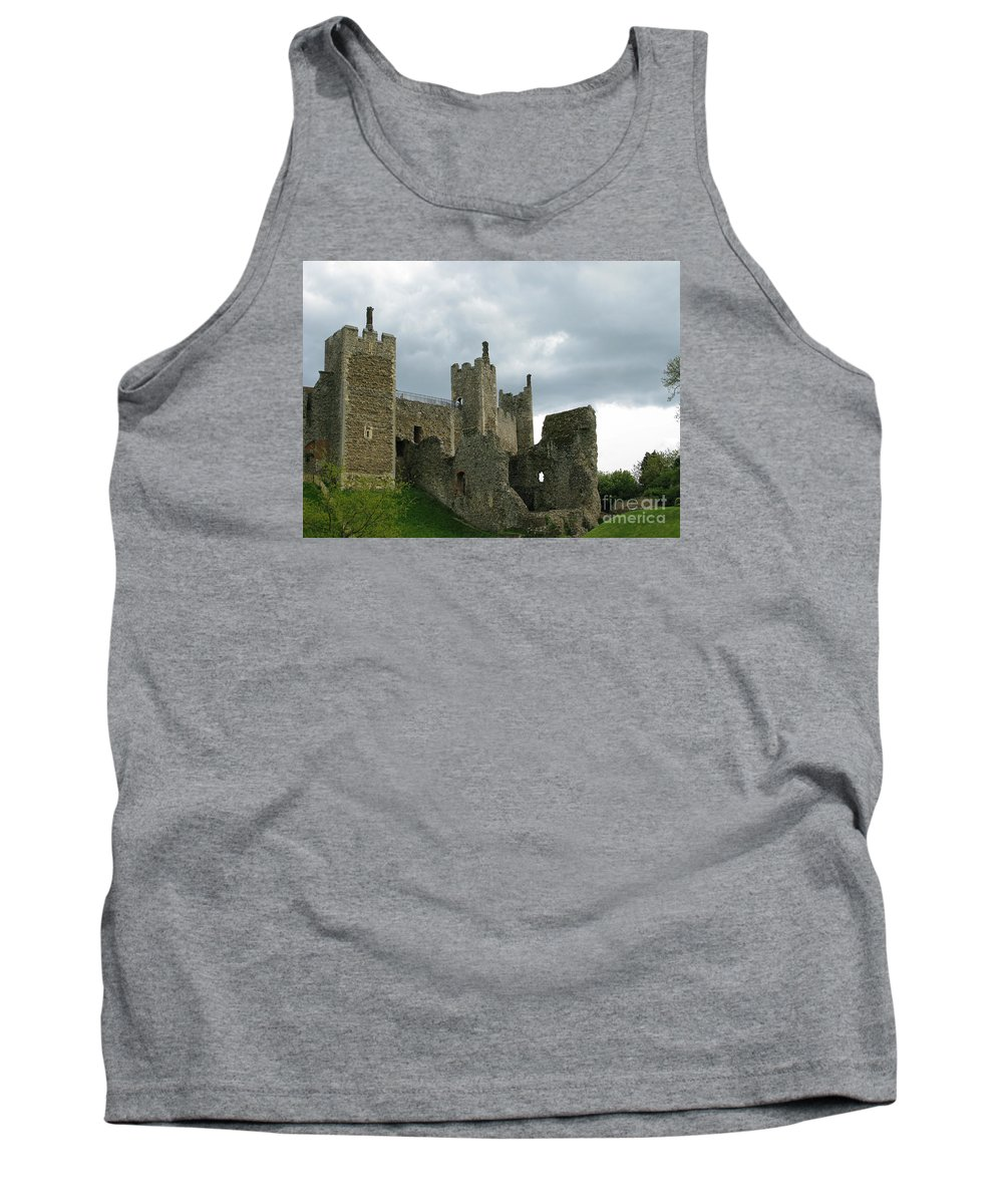 Castle Tank Top featuring the photograph Castle Curtain Wall by Ann Horn
