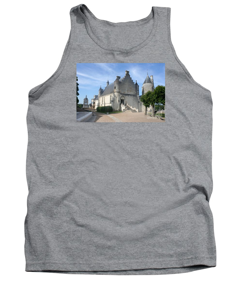 Castle Tank Top featuring the photograph Castle Loches - France by Christiane Schulze Art And Photography